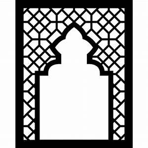 arabic arabesque mosque frame islam buildings