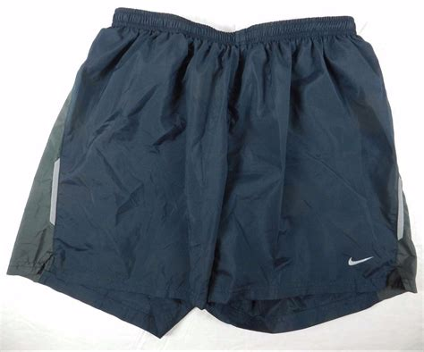 Mens Black Athletic Sport Drawstring Shorts = Nike Dry Fit