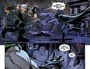 Bane VS Batman Decoy (Injustice Gods Among Us) | Comicnewbies