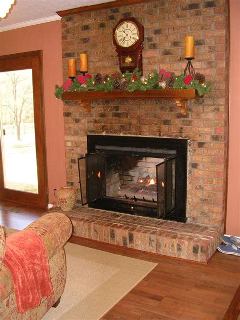 painted brick fireplace hometalk painted brick fireplace farmhouse inspiration
