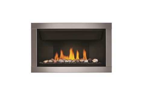 napoleon ascent linear  gas fireplace hoasis