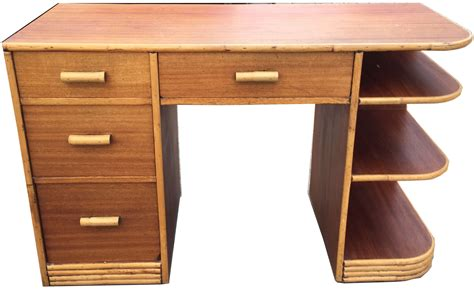 Product Of The Week A Desk L With A Mid Air Suspended Switch by 1940 S Vintage Paul Frankl Style Streamline Tropical Desk