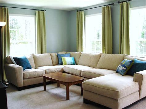 heart maine home   blue living room