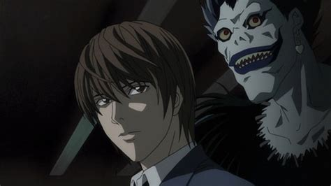 Light Yagami Shinigami by Note Images Light Yagami Ryuk Hd Wallpaper And