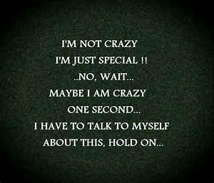 I Am Not Crazy Quotes. QuotesGram