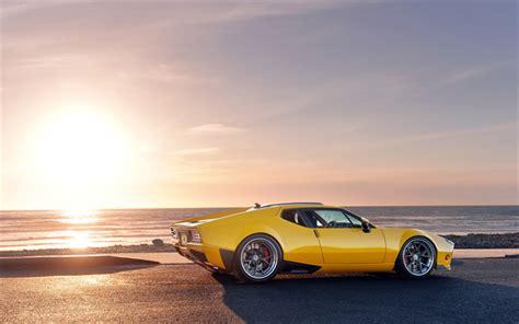 Download Wallpapers Tomaso Pantera Cars
