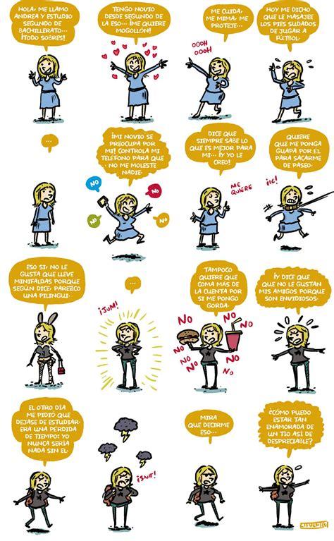 Historieta Sobre La Violencia De Género En Los Ies