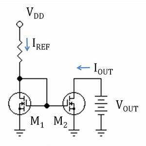 mosfet current mirror saturation mode electrical With simple current source voltage causes current voltage to current