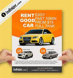 Free Car Rent Dealership Flyer Psd Templates