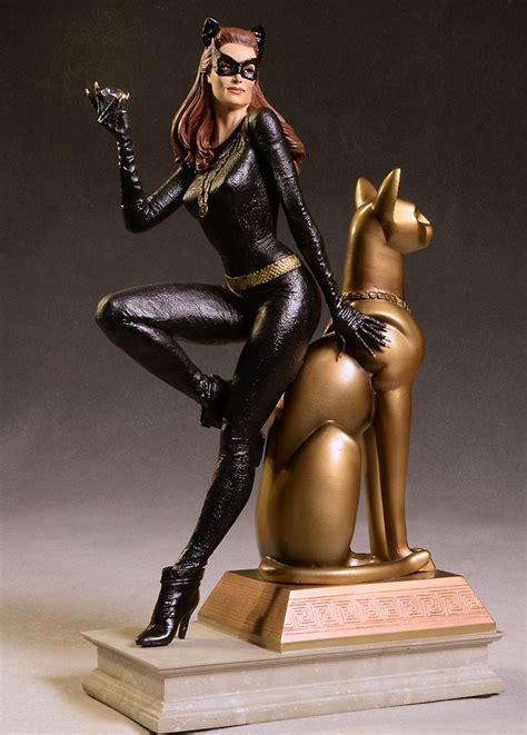 1966 catwoman julie newmar statue catwoman julie newmar