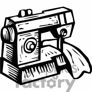 Free Black And White Sewing Clipart (40+)