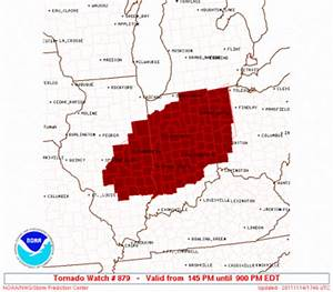 The Original Weather Blog: Tornado Watch Issued for Ohio ...