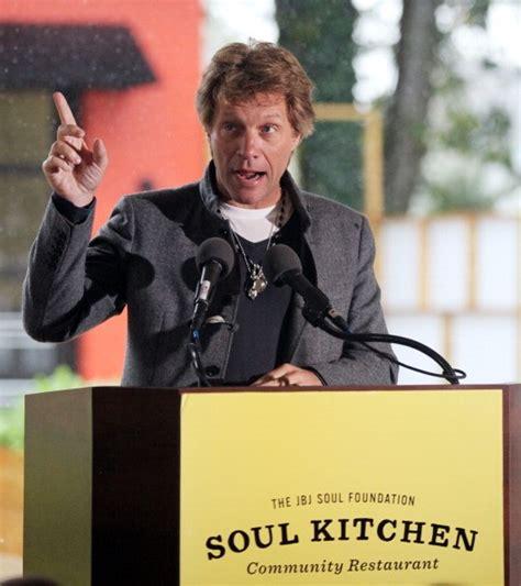 Jon Bon Jovi Opens Soul Kitchen New Charity Restaurant