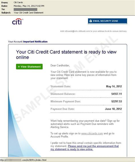citi bank statement sleek body method