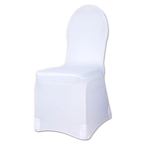couvre chaise mariage housse de chaise mariage blanc