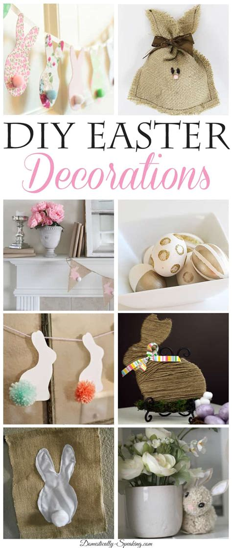 diy easter decorations 8 diy easter decorations weekend features domestically speaking