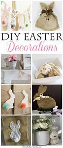 8 DIY Easter Decorations Weekend Features