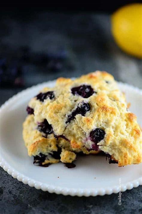 lemon blueberry scones recipe add  pinch