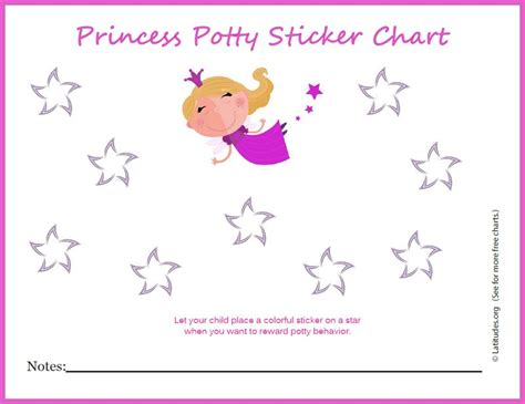 weekly reward chart printable free potty training sticker chart cute princess acn