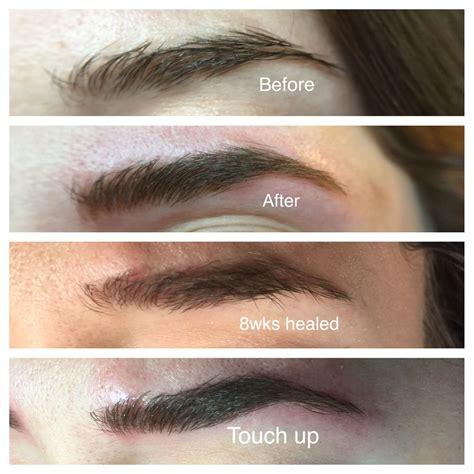 eyebrows microbladed sugar cloth