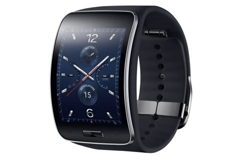 samsung outs the gear s a curved tizen smartwatch that