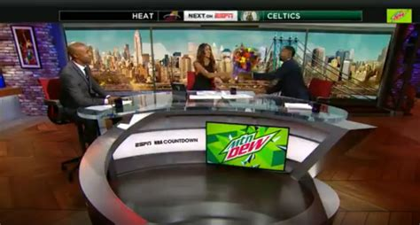Maria Taylor gets on-air support from NBA Countdown colleagues