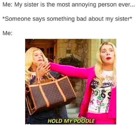 Memes About Sisters - 10 memes you need to send to your sister right now only people with sisters will understand