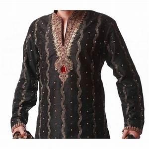 Tenue Indienne Homme : tenue indienne orientale noir et dor e ~ Teatrodelosmanantiales.com Idées de Décoration