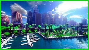 Minecraft - Super Realistic  U0026quot Greenfield U0026quot  City Map