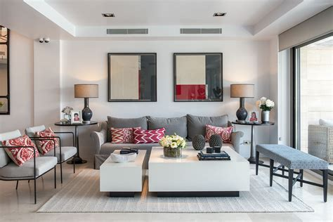 Living Room Gray Red Living Room Ideas Gray And Brown