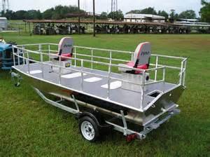 Custom Jon Boat Decks