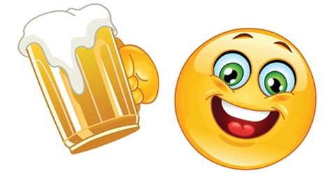 beer emoji beer smiley symbols emoticons