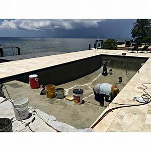 enduit d39etancheite et de finition pour piscine tout en un With enduit pour piscine beton