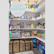 5 Easy Steps To A Well Organized Pantry  Home Made By Carmona