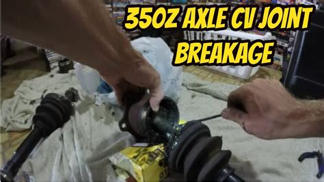 Cv Exles For Work by 350z Rear Axle Cv Joint Removal