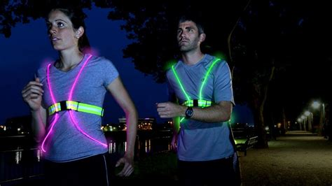Bright Battery Operated Lights by Brighten Up 6 High Visibility Items For Running In Low