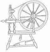 Spinning Wheel Digital Stamps Outline Template Coloring Wheels Stamp Member Templates Pages Crafts Paper Card sketch template