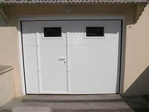 Lapeyre Porte De Garage : porte de garage sectionnelle lapeyre porte pinterest ~ Melissatoandfro.com Idées de Décoration