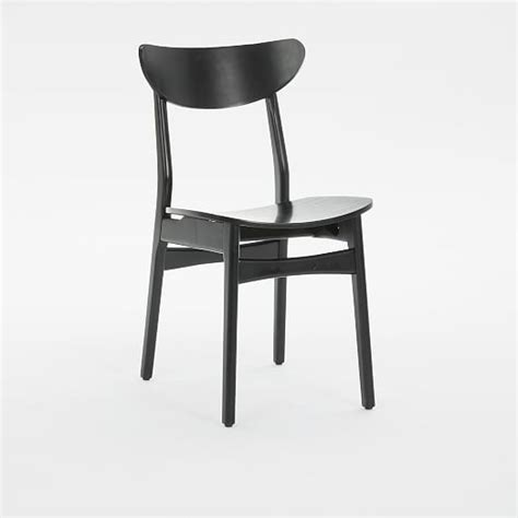 classic caf 233 dining chair lacquer wood west elm