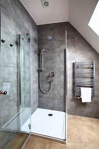 Installing, A, Tiled, Shower, Stall, With, Polyurethane, Pan