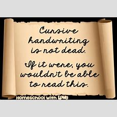 Handwriting  Homeschool With Love