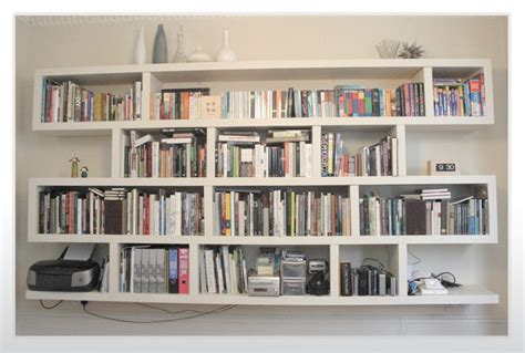 Wall Bookshelves by Wall Mounted Bookshelves Designs White Wall Mounted