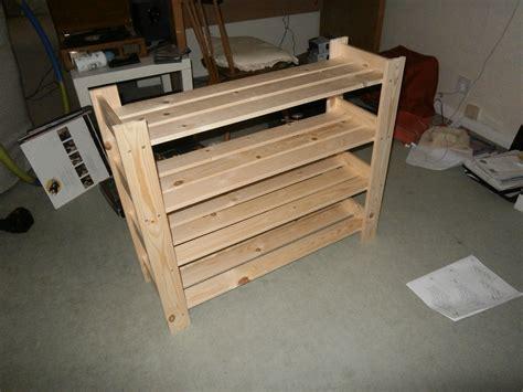 woodwork diy wooden shoe rack plans  plans