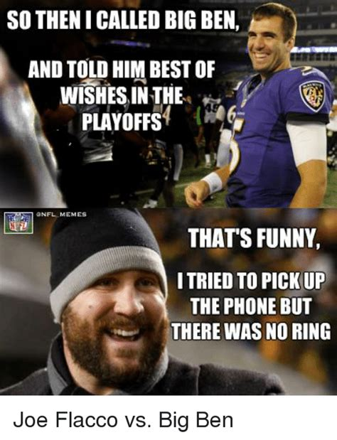 Joe Flacco Memes - 25 best memes about phone and nfl phone and nfl memes