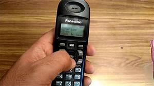 How To Change The Ringtone On Panasonic Cordless Landline
