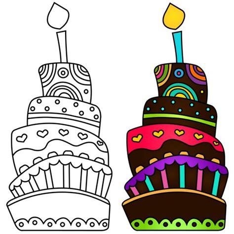 birthday cakes cliparts stock cliparts royalty
