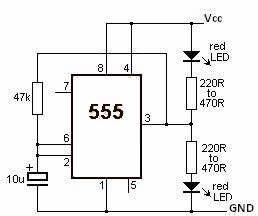 555 timer circuit page 3 other circuits nextgr With 555 timer page