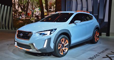 Minimum ground clearance is 220 mm (8.7 in) and like its predecessor, matte black cladding has been. Subaru XV concept | Photos, details, specs | Digital Trends