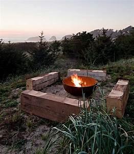 Feuerstelle Für Garten : etwas ausgefallene ideen f r eine feuerstelle aus metall f r den au enbereich ~ Markanthonyermac.com Haus und Dekorationen