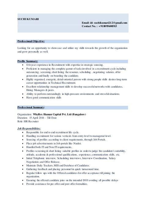 suchi resume